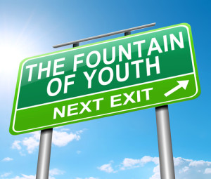 road sign- fountain of youth, next exit
