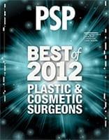 PSP Magazine Best of 2012 Plastic & Cosmetic Surgeons