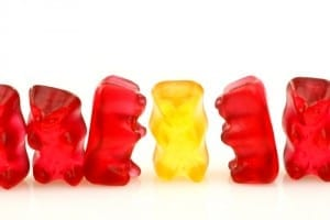 Gummy bear candy