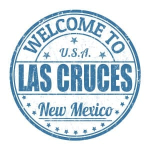 Sign saying welcome to Las Cruces